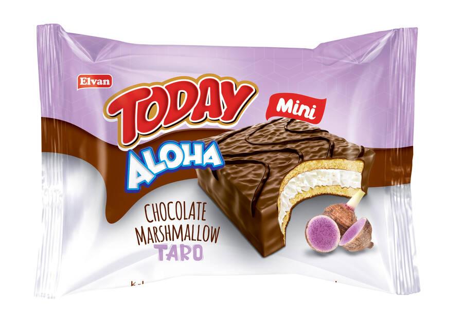 Aloha Mini Tarolu Marshmallowlu 20 Gr. 24 Adet (1 Kutu)