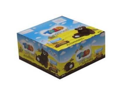 Bear Kek Ballı Süt Kremalı Çikolatalı Kek 40 Gr. 24 Adet (1 Kutu)