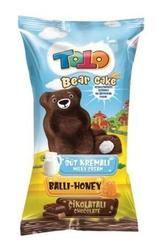 TOTO - Bear Kek Ballı Süt Kremalı Çikolatalı Kek 40 Gr. 24 Adet (1 Kutu)