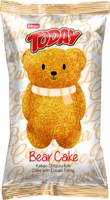 Bear Kek Çikolatalı 45 Gr. 24 Adet (1 Kutu)