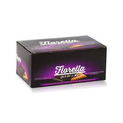 Fiorella Chocobiscuit Bitter Çikolatalı Bisküvi 102 Gr. 6 Adet (1 Kutu)