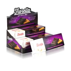 Fiorella - Fiorella Chocobiscuit Bitter Çikolatalı Bisküvi 102 Gr. 6 Adet (1 Kutu)