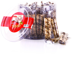 Elvan - Caferoll Fındıklı 10 Gr. 48 adet (1 Silindir Kutu)