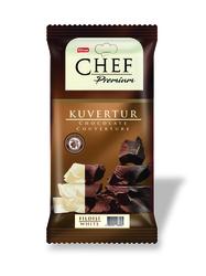 Elvan - Chef Premium Beyaz Çikolata Mini Kuvertür 200 Gr. (1 Adet)