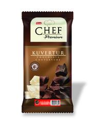 Elvan - Chef Premium Yüzde 29 Sütlü Mini Kuvertür 200 Gr. (1Adet)