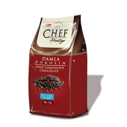 Elvan - Chef Prestige Bitter Damla Konfiseri 1000 Gr. (1 Poşet)