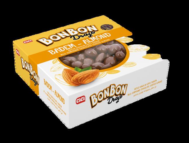 CİCİ - Cici Bonbon Bademli Draje 150 Gr. (1 Paket)