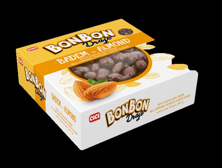 Cici Bonbon Bademli Draje 150 Gr. (1 Paket)