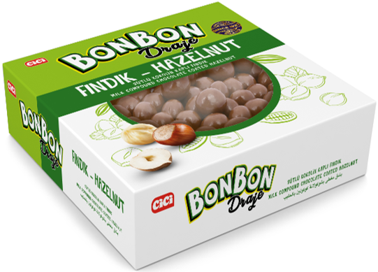 CİCİ - Cici Bonbon Fındıklı Draje 200 Gr. (1 Paket)
