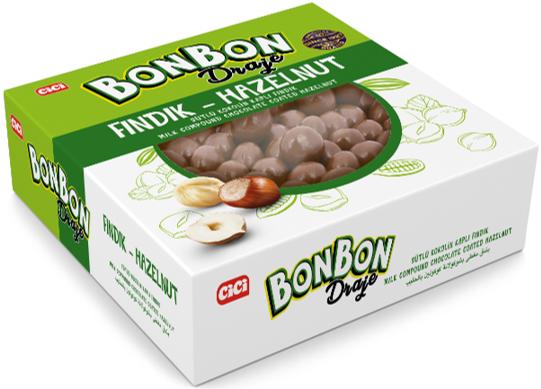 Cici Bonbon Fındıklı Draje 200 Gr. (1 Paket)