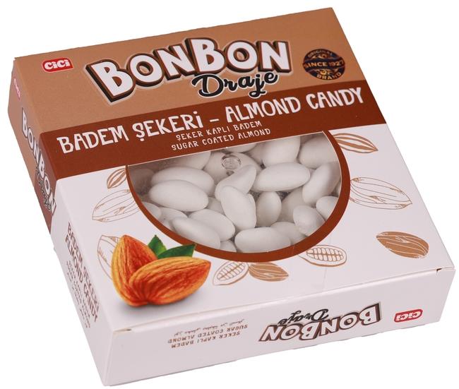 CİCİ - Cici Bonbon Şeker Kaplı Bademli Draje 150 Gr. (1 Paket)