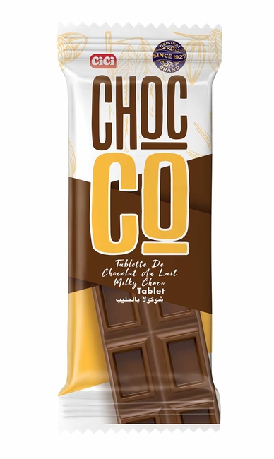 CİCİ - CİCİ Chocco Tablet 18 Gr. 24 lü (1 Paket)