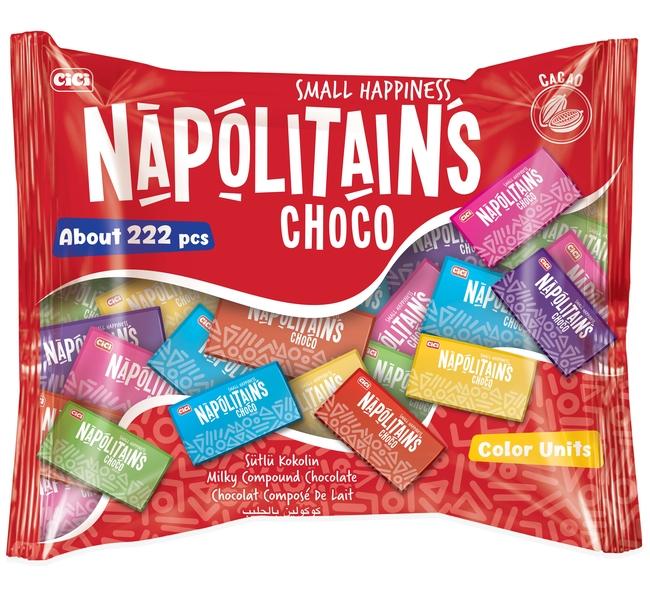 CİCİ - Cici Napolitains Çikolata 1000 Gr. (1 Poşet)