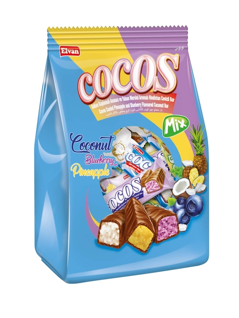 Elvan - Cocos Mix 500Gr. (1 Poşet)