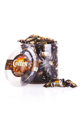 Elvan - Coffex Kahveli Şeker 1000 Gr. Silindir (1 Kutu)