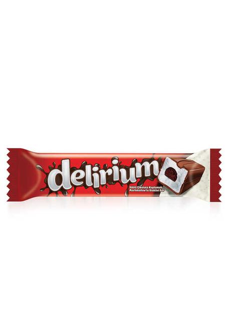 Elvan - Delirium Sütlü Çikolatalı Marshmallowlu Bar 28 Gr. 1 Adet