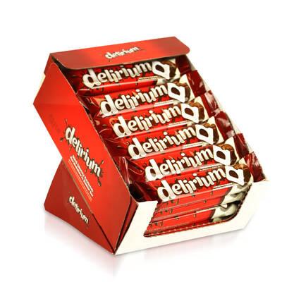 Delirium Sütlü Çikolatalı Marshmallowlu Bar 28 Gr. 24 Adet (1 Kutu)