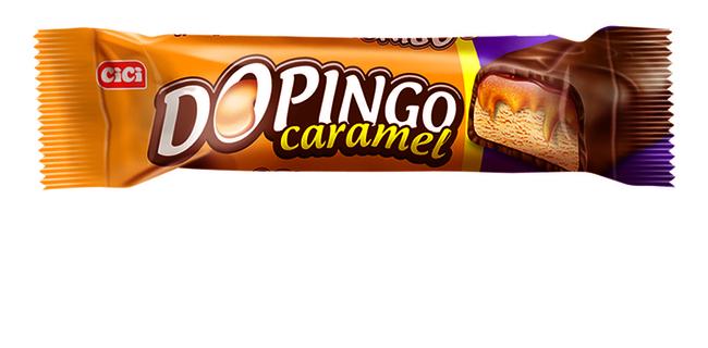 CİCİ - Dopingo Karamel 18Gr . 24 Adet (1 Kutu)