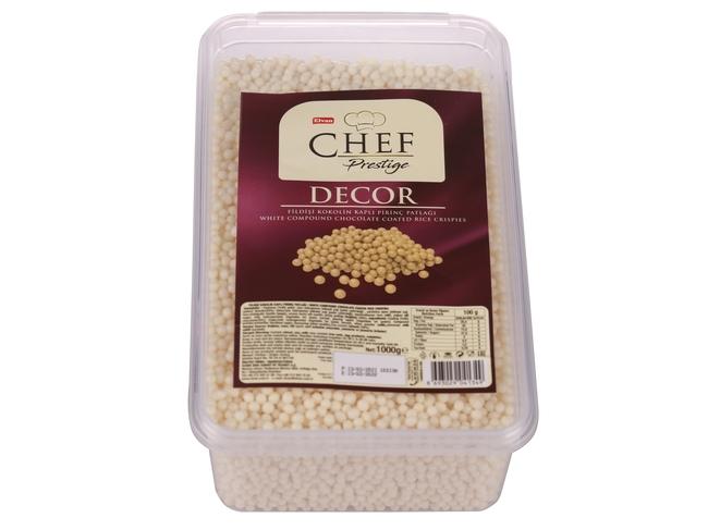 Elvan - Elvan Chef Prestige Fildişi Konfiseri Pirinç Patlağı 1000 Gr. (1 Kutu)
