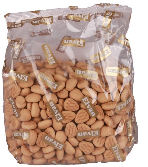 Elvan - Elvan Chipsy Badem Şekilli Bisküvi 500 Gr. (1 Paket)