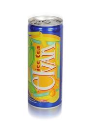 Elvan - Elvan Ice Tea Teneke Kutu Limon Aromalı Soğuk Çay 6'lı Paket