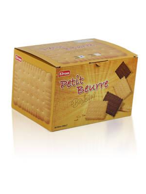 Petit Beurre XL Kakaolu Bisküvi 1000 Gr. (1 KUTU)