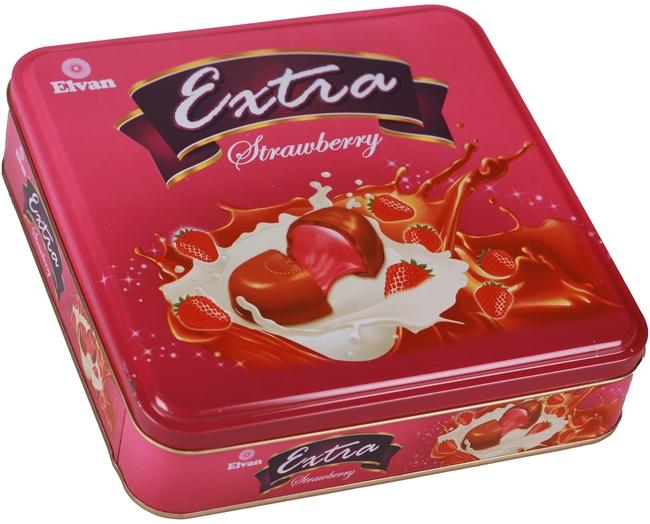 Elvan - Extra Çilekli 700 Gr. (1 Teneke Kutu)