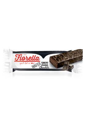 Fiorella Bitter Çikolata Kaplamalı Gofret 30 gr 24 Adet (1 Kutu)