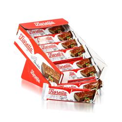 Fiorella - Fiorella Çikolata Kaplamalı Gofret 30 gr 24 Adet (1 Kutu)