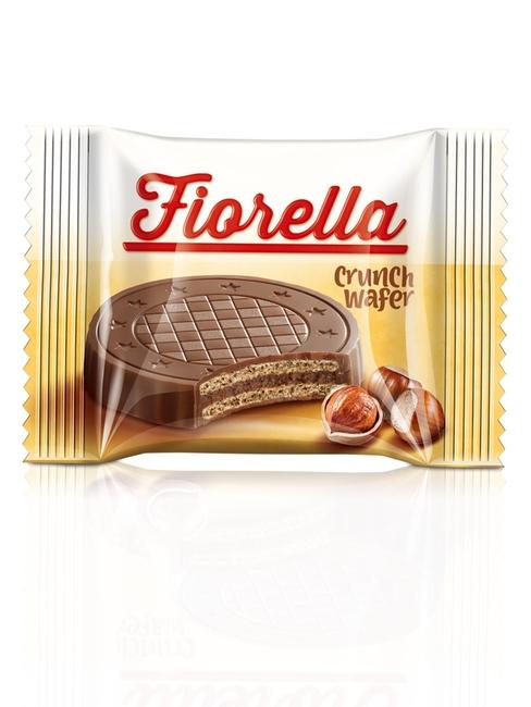 Fiorella Crunch Çikolatalı Gofret 20 Gr. 24'lü (1 Paket) - Thumbnail