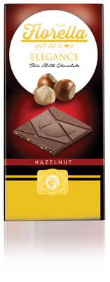 Fiorella Elegance Fındıklı Sütlü Çikolata 70 Gr. 10 (1 Kutu)