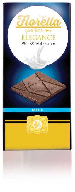 Fiorella - Fiorella Elegance Sütlü Çikolatalı Tablet 70 Gr. 1 Adet