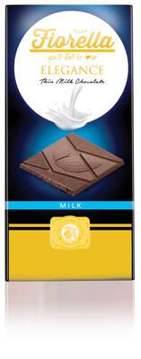 Fiorella Elegance Sütlü Çikolatalı Tablet 70 Gr. 10 (1 Kutu)
