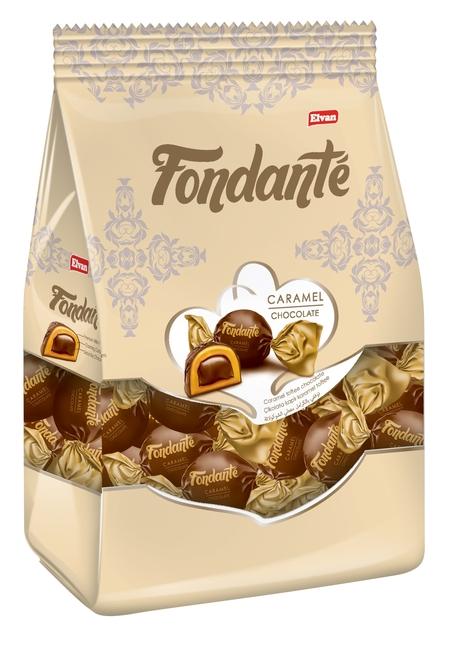 Fondante - Fondante Caramel Toffee 1000 Gr. (1 Poşet)