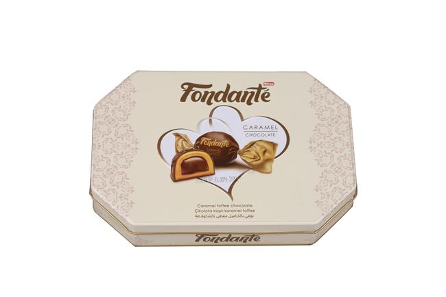 Fondante - Fondante Caramel Toffee 500 Gr. (1 Teneke Kutu)