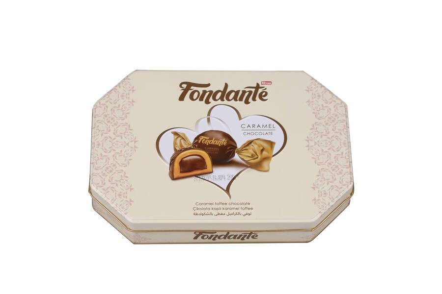 Fondante Caramel Toffee 500 Gr. (1 Teneke Kutu)