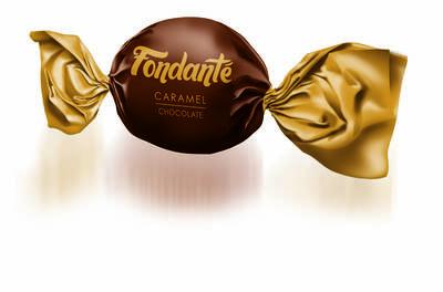 Fondante Caramel Toffee Hediyelik Kutu 300 Gr. (1 Kutu)