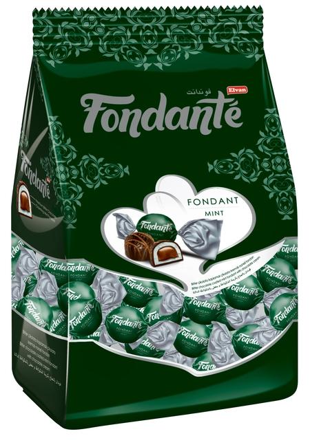 Fondante - Fondante Çikolata Dolgulu Naneli 200 Gr. (1 Poşet)