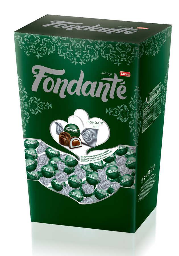 Fondante Çikolata Dolgulu Naneli Hediyelik Kutu 300 Gr. (1 Kutu)