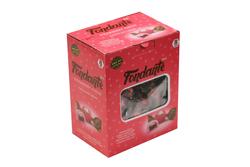 Elvan - Fondante Çilekli Fudge Çikolata Kremalı 1000 Gr. (1 Kutu)