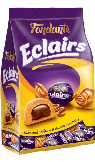 Fondante - Fondante Eclairs Caramel Toffee 1000 Gr. (1 Poşet)