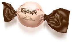 Fondante Fudge Çikolata Kremalı 1000 Gr. (1 Poşet) - Thumbnail