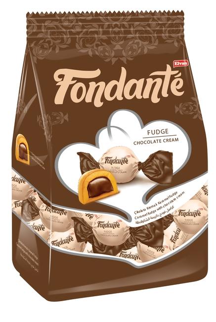 Fondante - Fondante Fudge Çikolata Kremalı 1000 Gr. (1 Poşet)