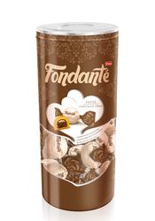 Elvan - Fondante Fudge Çikolata Kremalı 400 Gr. Silindir (1 Kutu)