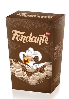 Fondante Fudge Çikolata Kremalı Hediyelik 300 Gr. (1 Kutu)
