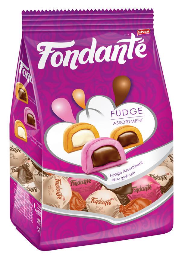 Fondante Fudge Mix 1000 Gr. (1 Poşet)