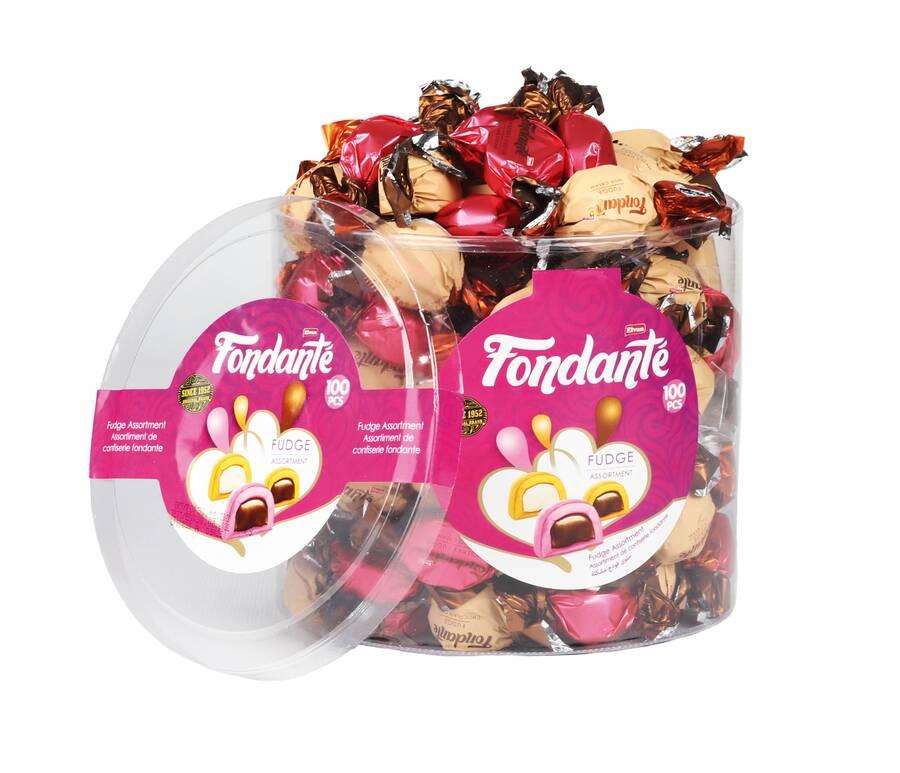 Fondante Fudge Mix 1000 Gr. Silindir (1 Paket)