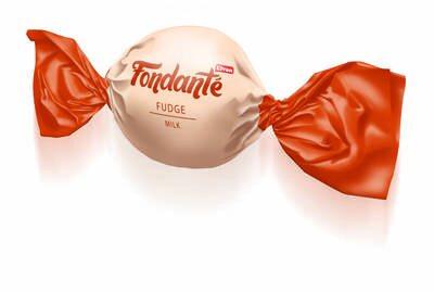Fondante Sütlü Fudge 400 Gr. Silindir (1 Kutu)
