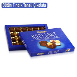 Fiorella Hazelnut Fındık Taneli Çikolata 270 Gr. (1 Kutu) - Thumbnail