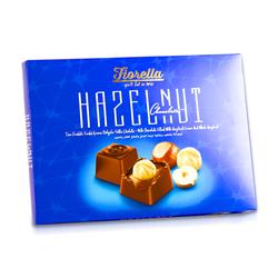 Fiorella - Fİorella Hazelnut Fındık Taneli Çikolata 270 Gr. (1 Kutu)